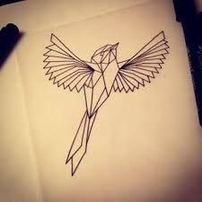Resultado de imagen para geometric bird