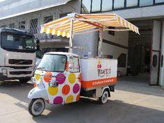 EasyFoodTruck.com - Coibent Car - Et pourquoi pas un triporteur pour vous lancer dans l'aventure street food ?