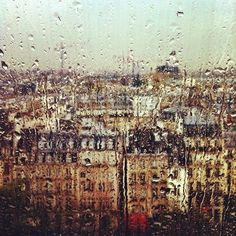 """I imagine living in Paris in the the rain""-Midnight in Paris I Love Rain, No Rain, Ventana Windows, Tuileries Paris, Dancing In The Rain, Tour Eiffel, Rain Drops, Rainy Days, Rainy Mood"