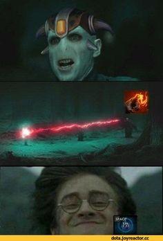 Dota,фэндомы,Lion (Dota),harry potter,Voldemort,Dota Other