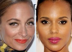 Maquiagem Nicole Richie, Kerry Washington!
