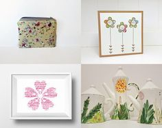 floral finds by Karen Cheetham on Etsy--Pinned+with+TreasuryPin.com