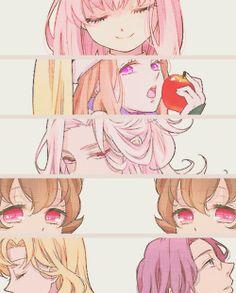 photoset gif anime mario mawaru penguindrum shouma kanba himari ...