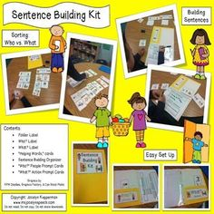 This is a fantastic resource, I am always looking for building sentences with my students but to also do so with motivating and fun activities. This is the perfect resource to use with my students. Thank you. - Sarah  Grab your copy of my Sentence Build