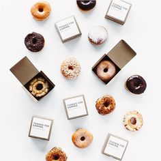 #Donut boxes are our kind of #party favour. Image via @almostmakesperfect x