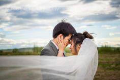 Floating Veil Wedding Photography, Cathedral Veil Wedding Photos, Wedding Photography, Country Wedding Photography, Calgary Wedding Photography