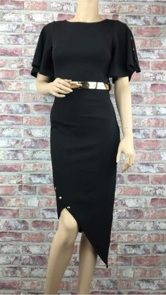 Asymetrické Púzdrové Ierne Aty Waist Skirt, High Waisted Skirt, Boho, Skirts, Hair, Fashion, Moda, High Waist Skirt, Skirt