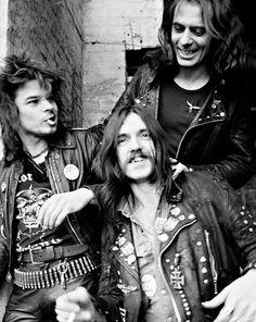 """psychedelicway: """" Motorhead, 1980 Freaks Power! """""""