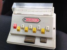 Casdon toy till cash register