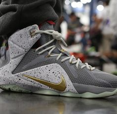 Awesome Mag Yeezy inspired LeBron 12 Nike Id 29071168c