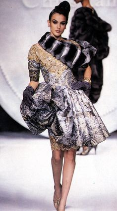 Helena Barquilla, Christian Dior Haute Couture by Ferre