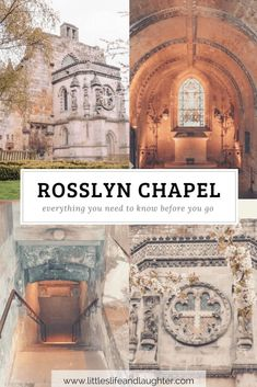 Rosslyn Chapel Scotland - Everything you need to know before you go! #rosslynchapel #travelguide #edinburgh #holygrail #visitscotland #wanderlust