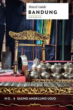 The Angklung is a famous Indonesian cultural instrument and a concert is a must see while in Bandung. For more on the top sights and activities check out my Indonesia Travel Guide.
