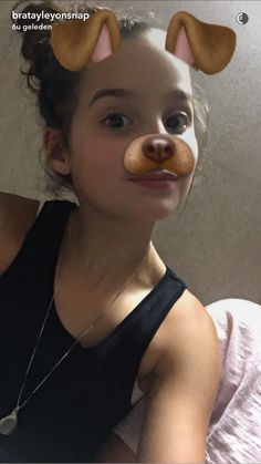 Bratayley ~ Annie on snapchat #dogfilter ~