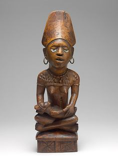 Commemorative Mother and Child Figure, 19th–20th century. Democratic Republic of Congo or Angola; Kongo, Yombe group. The Metropolitan Museum of Art, New York. The Michael C. Rockefeller Memorial Collection, Bequest of Nelson A. Rockefeller, 1979 (1979.206.29)