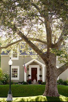 Rare Grey Sherwin Williams red doors, new houses, sherwin william, front doors, exterior colors, house paint colors, exterior paint, curb appeal, house colors