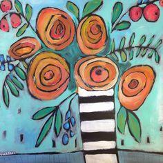 Jenni Horne : Orange Happy