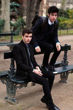 LOOKBOOK: Vini & Matthias in Paris #mensfashion