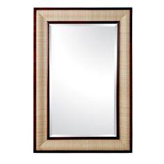 Polo Mirror, Walnut - Bungalow 5