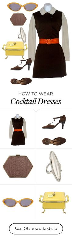 """""""60's"""" by tikeyla on Polyvore featuring House of Harlow 1960"""