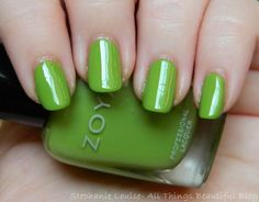 Zoya Tickled Collection Summer 2014 Swatches & Review Tilda via @Stephanie Louise Telford