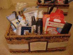 Bathroom Baskets more little things…bathroom baskets   weddings, wedding dj and wedding