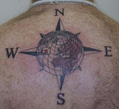 world compass by bizarre ink, via Flickr
