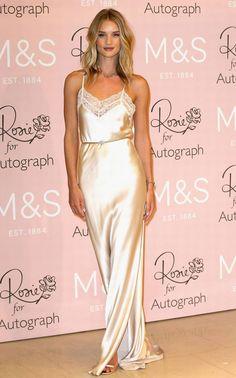 Rosie Huntington look slip dress