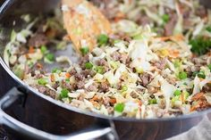 Whether you call this egg roll in a bowl or crack slaw, you're going to love this quick weeknight dinner recipe! It's ready in just 20 minutes and is really packed with flavor. Such a healthy option for a quick dinner. I've mentioned before that I've been doing a low carb keto diet off and on for the past 6 months or so. I lost 30 pounds in just a couple of months doing one earlier this year. Since then I've managed to keep the weight off and just do a week of the low carb diet here and…