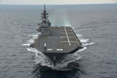 Military and Commercial Technology: Japan's converted Izumo-class carriers will not feature a 'ski-jump' ramp for F-35B operations