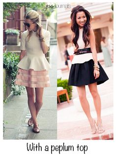 How They Wear It: Skater Skirts