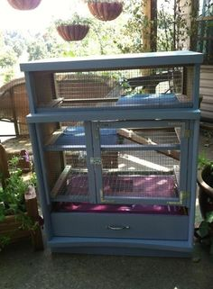 Looking for gardening project inspiration? Check out Dresser Bunny Hutch by member FiddlesAndBows.