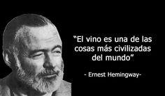hemingway vino