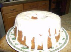 BLACK PEPPER POUND CAKE with CREAMY ALMOND Glaze
