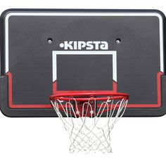 Check out our New Product  B400 adult basketball backboard in black red Sports Regularly playing basketball.This basketball set includes a backboard, rim and net. It is compatible with wall attachment accessory for adjusting playing height  ₹6,049