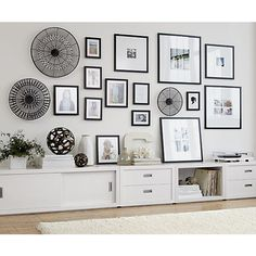 Matte Black Frames | Crate and Barrel