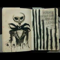 Wreck This Journal - Jack Skellington - Tim Burton