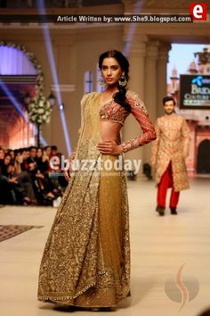 Faraz Manan Bridal Couture at TBCW2014 | Designers Fashion Show - She9 | Change the Life Style