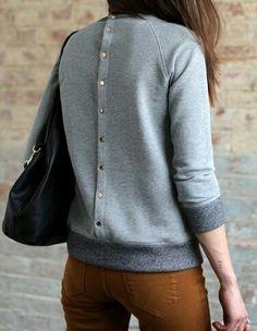 Button swetpants