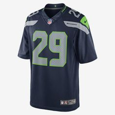 REPRESENT YOUR TEAM. The NFL Seattle Seahawks Limited Jersey delivers unparalleled fit and style for fans who command attention, at the stadium and on the street. FLYWIRE STRENGTH Flywire strength resists stretch around the neck. STRATEGIC VENTILATION Strategic ventilation over major heat zones helps keep you cool. PREMIUM TWILL NUMBERS Highly flexible twill numbers add premium style. Product Details Tailored fit designed for movement Water-repelling fabric No-tag neck label TPU…