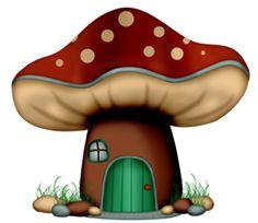 Mushroom Crafts, Mushroom Art, Arts And Crafts, Paper Crafts, Diy Crafts, Mushroom House, Baby Room Design, Scrapbook Embellishments, Tole Painting