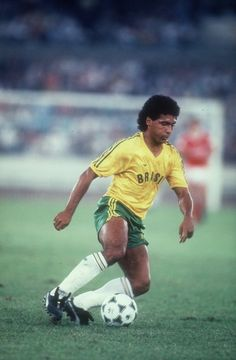 Romario in action v USSR (1-2aet) during the Gold Medal match of the 1988 Summer Olympics.Source: CNN