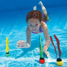 Swimming Pool Games, Children Swimming Pool, Underwater Swimming, Swimming Diving, Kid Pool, Exercise Fitness, Swimming Pool Accessories, Swim Training, Pool Floats