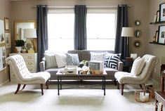 Stunning Living Room Before and After - Home Made by Carmona
