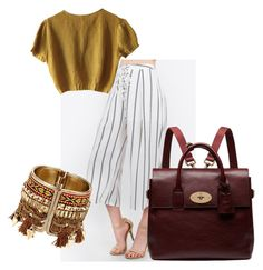"""ETHNIC"" by missrorodu46 on Polyvore featuring mode, Schumacher et Mulberry"