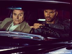 Starz's adaptation of one of Neil Gaiman's best novels premiered last night. American Gods is one of my absolute favorite books. Neil Gaiman, Mark Gatiss, Jon Hamm, Michael Sheen, Robin Williams, David Tennant, Sherlock Bbc, Starz Series, Tv Series