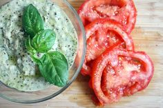 White Bean Basil Hummus- Right In Time For Sun Bathing Season // Greatist.com
