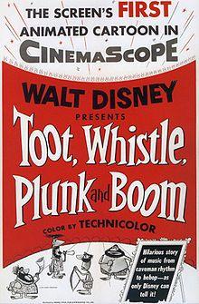 WaltDisneyBest Animated Short Film1954Toot, Whistle, Plunk and Boom