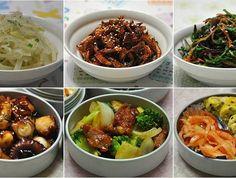 ♪ 간단한 조리, 최고의 맛! 도시락 반찬 6가지 Korean Side Dishes, Bento Box Lunch For Adults, Lunch Box, K Food, Korean Food, Korean Recipes, Holidays And Events, Food And Drink, Meals