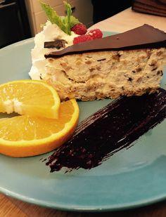 Cheesecake, orange, pascha